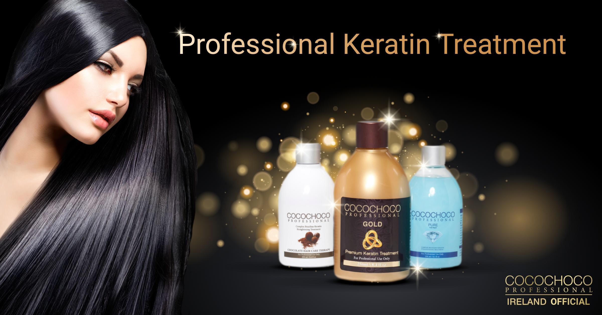 Keratin Hair Straightening Cocochoco Ireland Official